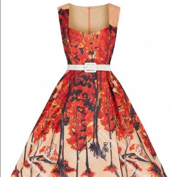32df49fa8c36 Lindy Bop Dresses   Nwt Nellie Pink Fox Swing Dress   Poshmark